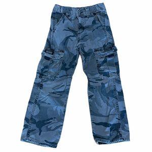 Wrangler gray army print cargo pant 7 Slim